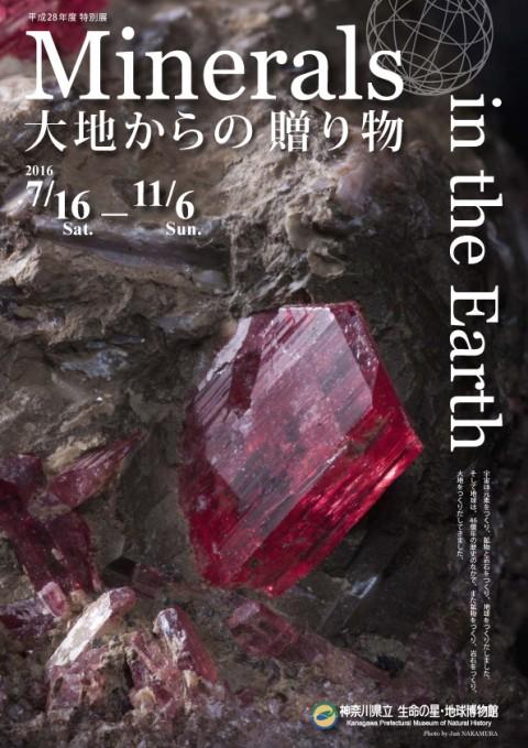 Minerals in the Earth-大地からの贈り物-
